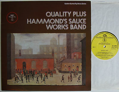 "Hammond's Sauce Works Band Quality Plus (6691) 12"" LP 1969 Pye Golden Guinea"