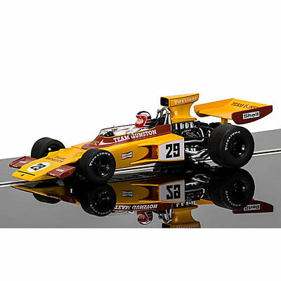 SCALEXTRIC Slot Car C3833A Lotus 72 Gunston 1974, Ian Scheckter Legend - Ltd Ed