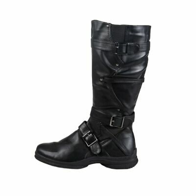 Lisanne Comfort + Ladies Boots Black +3 Buckles