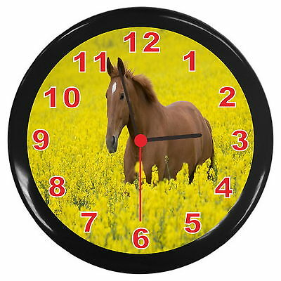 Very Nice Horse Decor Wall Clock y11 a2080