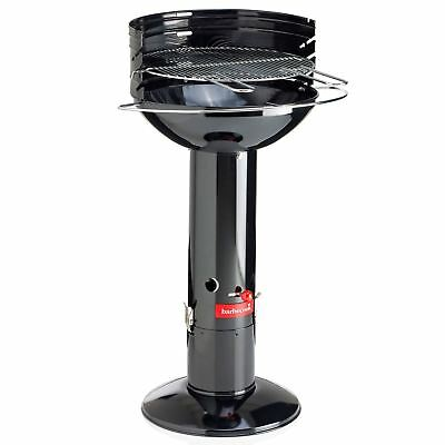 Barbecook Optima Black Charcoal Barbecue with Cover Outdoor Enamel BBQ Grill