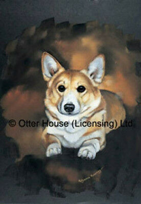 Large Indoor/Outdoor Portrait Flag - Pembroke Welsh Corgi (PP) 90044