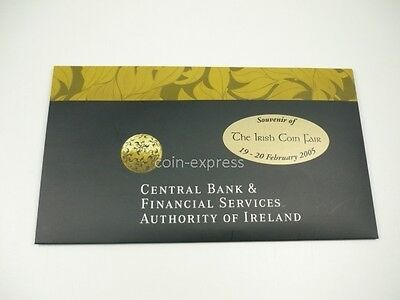*** EURO KMS IRLAND 2005 Irish Coin Fair - BU IRELAND Coin Set Kursmünzensatz **