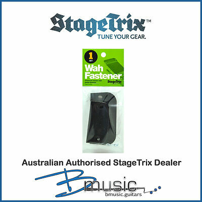 StageTrix Wah Fastener™ - Mount your wah pedal firmly and easily on your board