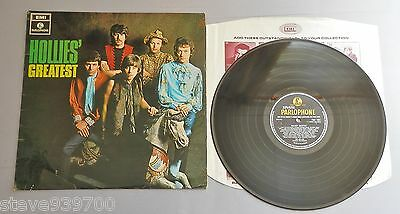 The Hollies - Hollies' Greatest UK Parlophone Mono LP