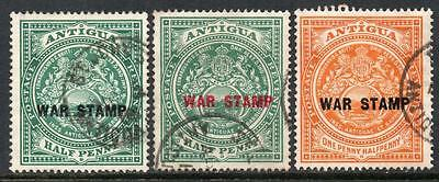 Antigua 1916-18 War Stamps