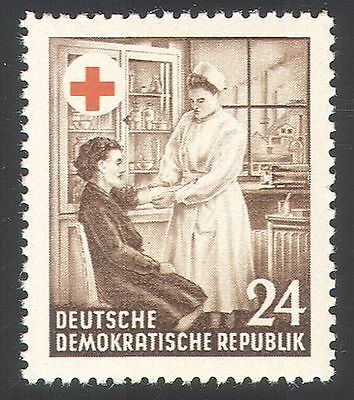 Germany (DDR) 1953 Red Cross/Medical/Health/Nurse/Nursing 1v (n27728)