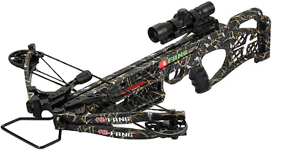 """NEW 2017 PSE Fang LT Crossbow Package Skullworks 2 Camo W/ Free Case  """"UPGRADED"""""""