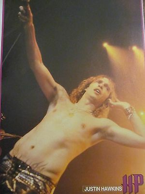 The Darkness, Justin Hawkins, Full Page Pinup