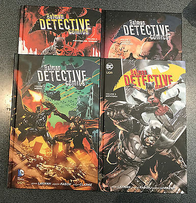 BATMAN DETECTIVE COMICS VOL. 2-3-4-5 (NEW 52 LIMITED) RW Lion