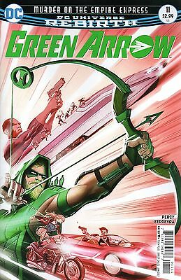 Green Arrow #11 (Dc 2016 1St Print) Rebirth Comic