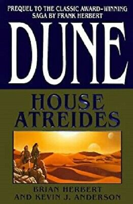 Partial Set Series - Lot of 7 Dune HARDCOVER books Frank Herbert Brian Herbert