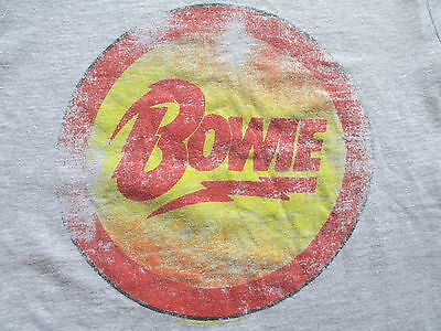 David Bowie Is Forever Art Gallery Of Ontario Gray T Shirt Size S Small M Medium