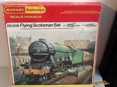 Hornby Railways Empty Box RS608 Flying Scotsman Set