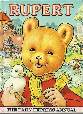 Rupert The Daily Express Annual 1981 Very Good condition