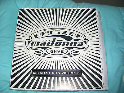 "Madonna PROMO FLAT GHV2 Double Sided USA 12""x12"" NEW rebel heart tour"