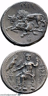 Ancient Greek Coin Tarsos Cilicia Silver Stater Coin 361-334 Bc