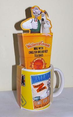 Wallace & Gromit Time For Tea Ceramic Drinking Mug - New & Unused