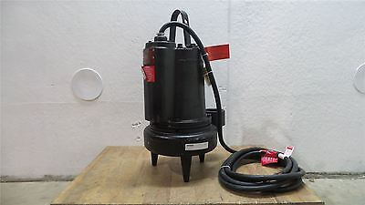 Dayton 3BB96 3 HP 1750 RPM 460V Cast Iron Manual Submersible Sewage Pump