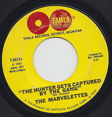 The MARVELETTES * The Hunter * 1966 US MOTOWN NORTHERN SOUL 45 * Listen!