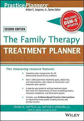 The Family Therapy Treatment Planner, with Dsm-5 Updates, 2nd Edition by Frank M