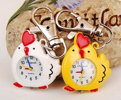 New Cute Chick Design Key Ring Chain watch boys girls children kids gift DK62