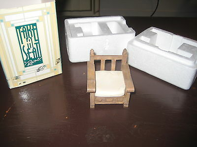 2000 Take A Seat by Raine - Dollhouse Display - Patio Chair circa 1990