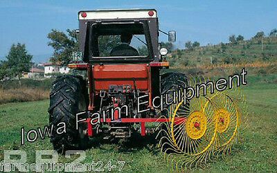 "Sitrex 2 Wheel 3-Point Hay Rake, 6'-7"" Working Width:FreeShippingToSelectStates!"