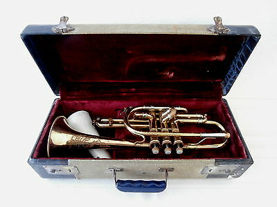 Buescher Cornet with mouthpiece - hard case included