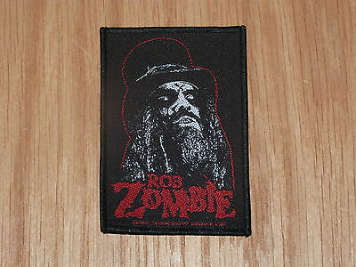 Rob Zombie - Portrait (New) Sew On W-Patch Official Band Merchandise