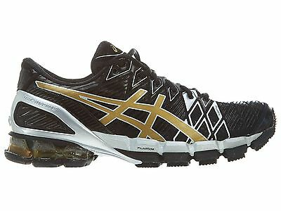 bas prix 629d2 1eb5f ASICS GEL-KINSEI 5 Mens T3E4Y-9094 Black Gold Silver Running Shoes Size 8