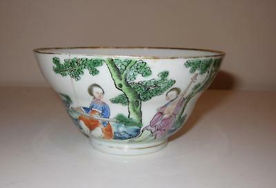 18th Century Chinese Export Porcelain Large Tea Bowl / Teabowl
