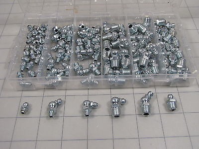 Assorted Pack Grease Zerk Fittings NEW