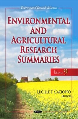 Environmental Agricultural Research Summ, 9781536114164