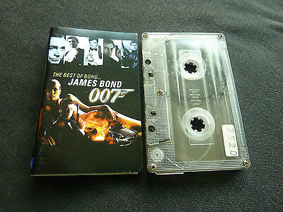 The Best Of James Bond Ultra Rare Cassette Tape! 007