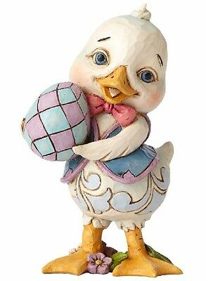 Jim Shore Heartwood Creek Which Came First Duck with Egg Easter Figurine 4056943