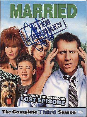 Christina Applegate Married With Children Autographed Signed Dvd Authentic Proof