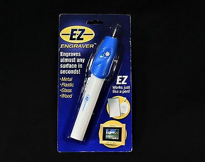 Cordless E-Z Engraver - Engraves Almost Any Surface