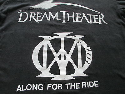 Dream Theater Along For The Ride 2014 Montreal Black T Shirt S Small M Medium