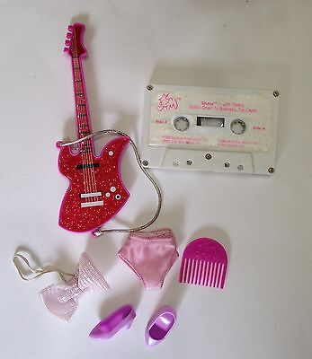Vintage Jem SHANA DOLL ACCESSORIES LOT Jem And The The Holograms