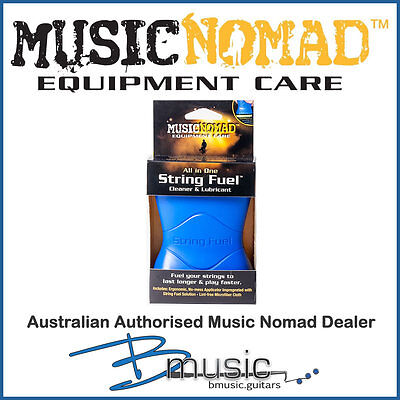 Music Nomad String Fuel Cleaner & Lubricant - Clean & protect your strings