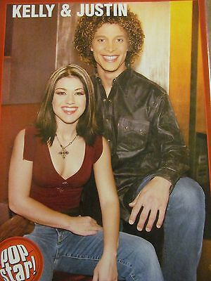 Kelly Clarkson, Full Page Pinup, Justin Guarini