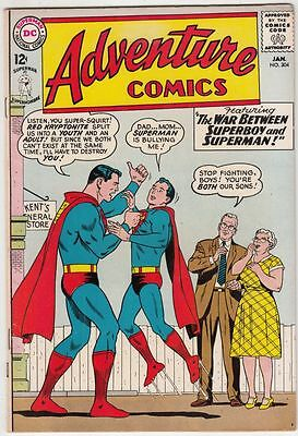 Adventure Comics #304 Superboy strict VF/NM 9.0 High-Grade Looks full NM! 30%Off