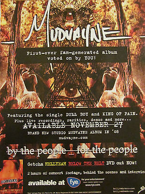 Mudvayne, Hellyeah, Full Page Promotional Ad