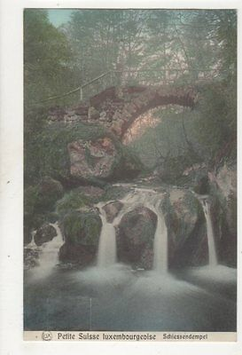 Petite Suisse Luxembourgeoise Schiessendempel Luxembourg 1911 Postcard 329b