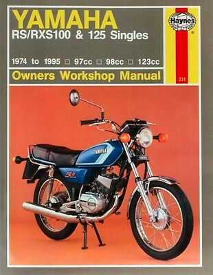 Yamaha RS/RXS100 and 125 Singles Owner's Workshop Manual (Haynes Owners Worksho.