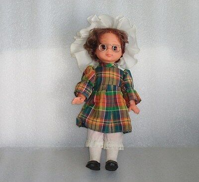 VINTAGE Spielzeug Rauenstein? 30 CM PLASTIC AND RUBBER DOLL, GERMANY-GDR