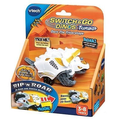 VTech - Switch and Go Dinos Turbo - Rox, le turbo Tricératops - IN148 NEUF