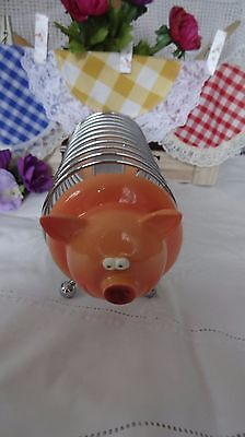 TOAST RACK  ~ VINTAGE / RETRO     FABULOUS PIG ~  collectable