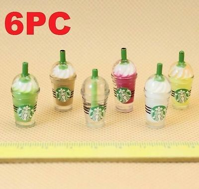 Dollhouse Miniature Lemon Lime Soda Drink /& Cups Set G 1:12 one inch scale G11